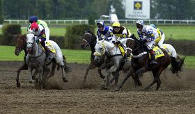 The 112th Grand Pardubice Steeplechase, photo: CTK