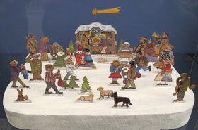 Рождественские ясли Йозефа Лады, фото: Доминика Бернатова