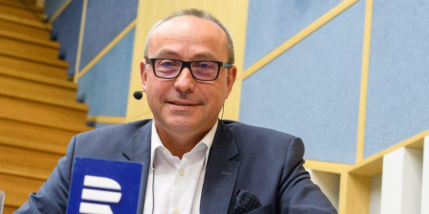 Jan Pokorný, photo: Khalil Baalbaki, ČRo