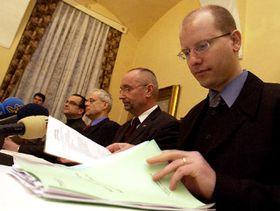 Jednání vládní koalice na zámku vKolodějích uPrahy, foto: ČTK