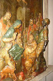 El relieve 'Adoración de los Reyes' elaborado para el emperador Rodolfo II (antes de 1611)