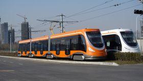 Tranvía por la ciudad de Qingdao, foto: ČTK