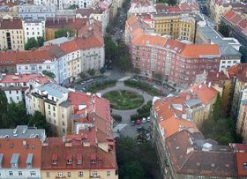 Škroup-Platz heute (Foto: Huhulenik, CC BY 3.0)