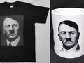 Une tasse et un t-shirt avec Adolf Hitler, photo: Naše vojsko