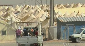 Flüchtlingslager in Syrien (Foto: Voice of America News, Public Domain)