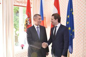 Andrej Babiš y Sebastian Kurz, foto: archivo de Agencia del Gobierno Checo