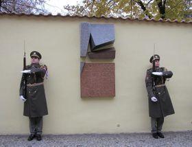 Gedenktafel an den Tod von Jan Opletal und Václav Sedláček (Foto: Archiv der Karlsuniversität in Prag)