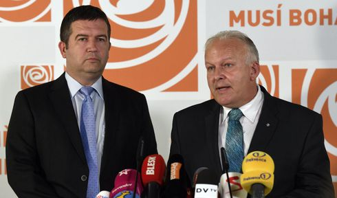 Social Democratic Party leader Jan Hamáček, Petr Krčál, photo: ČTK/Krumphanzl Michal