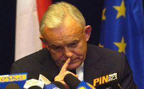 Negociaciones sobre la futura Constitución Europea - el primer ministro de Polonia, Leszek Miller, foto: CTK