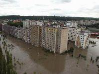 La ciudad de Kralupy nad Vltavou, Foto: CTK