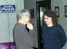 Angel Cuadra conversa con la redactora de Radio Praga, Andrea Fajkusova