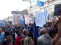 Les protestations contre le Premier ministre Andrej Babiš, photo: Martina Schneibergová