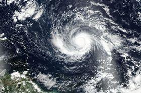 Huracán Irma, foto: NASA, Public Domain