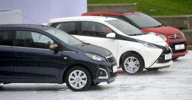 Toyota Aygo, Peugeot 108, Citroën C1, photo: CTK