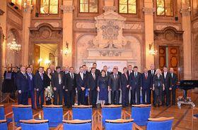Украинская делегация в Сенате Парламента ЧР, Фото: Архив края Высочина