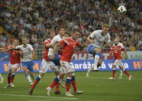 Testspiel gegen Russland (Foto: ČTK / AP / Sergej Piwovarow)