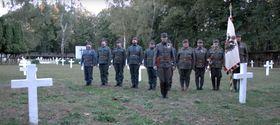 Záběr zklipu, který vznikl jako hold padlým Čechům zřad císařského vojska, foto: YouTube