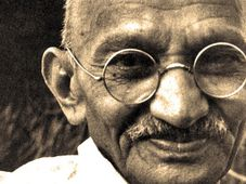 Mahatma Gandhi, foto: ČT24