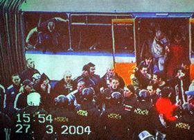 Czech hooligans, photo: CTK