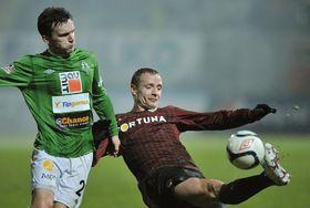 El Sparta ganó al Jablonec el sábado por 4-2, foto: ČTK