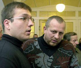 David Pecha (left), photo: CTK