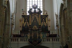El órgano de la iglesia de Nuestra Señora de Týn, foto: Francesco Gasparetti, CC BY 2.0