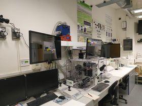 Laboratorio, foto: archivo personal de Miguel Ángel Merlos