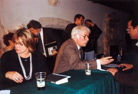 Seamus and Marie Heaney, photo: Maire, CC BY-SA 2.5)