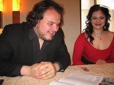 David Lomelí y Eva Hornyáková, foto: Gonzalo Núñez