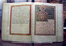 Vyšehrad Codex, photo: archive of Radio Prague
