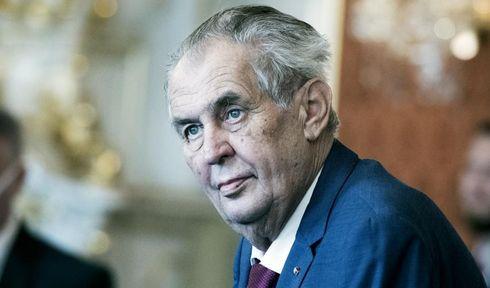 Miloš Zeman, foto: Michaela Danelová, ČRo
