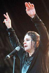 Ozzy Osbourne, el 1998 en Praga, foto: CTK