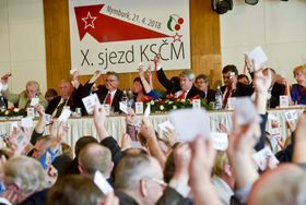 Le Parti communiste de Bohême et de Moravie (KSČM), photo: ČTK