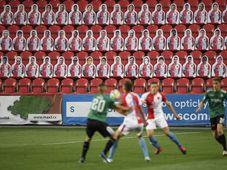Slavia Praha - FK Jablonec, foto:  ČTK /Ondřej Deml