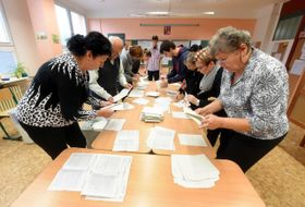 Подсчет голосов, Фото: ЧТК