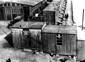 The Lety concentration camp site, photo: Archive of the Museum of Romany Culture