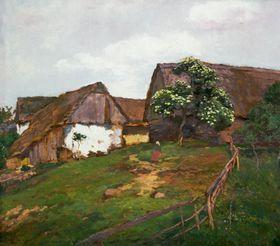 Antonín Slavíček, Partie zKráskova, olej na plátně, ze sbírky Pražského hradu, foto: Pražský hrad