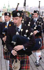 The Grampian Police Pipe Band, photo: CTK