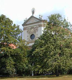 Костел св. Игнатия Лойолы ордена иезуитов на Карловой площади, Фото: Кристина Макова, Чешское радио - Радио Прага