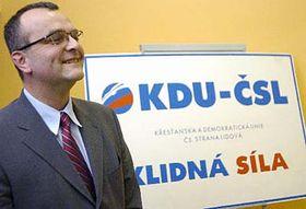 Miroslav Kalousek, líder de los democristianos checos (Foto: CTK)