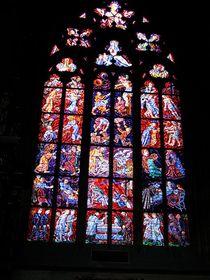 Витраж в Соборе Святого Вита (Фото: Yair Haklai, Wikimedia CC BY-SA 3.0)