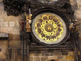Reloj Astronómico de la Plaza de la Ciudad Vieja en Praga, foto: Kristýna Maková