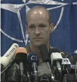 Johnson Barry, mluvčí NATO vMakedonii