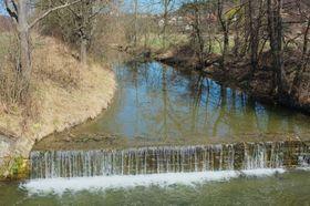 Řeka Olšava vZáhorovicích, foto: Adam Zivner, Wikimedia Commons, CC BY-SA 3.0