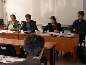 Symposium über Pavel Eisner (Foto: Maria Hammerich-Maier)