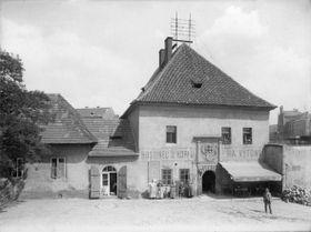 Подскальская таможня в 1910 году, фото: Ян Кржиженецкий, Wikimedia Commons, CC0