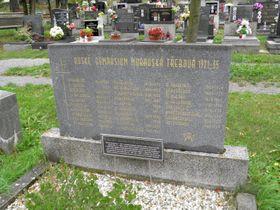 Ruské emigranty připomínají ihroby na hřbitově vMoravské Třebové, foto: Anton Kajmakov