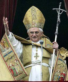 Papež Benedikt XVI., foto: ČTK