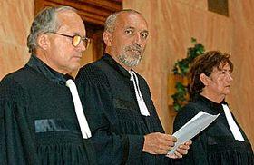 Soudci Ústavního soudu, foto: ČTK