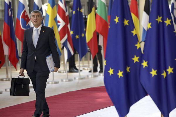 премьер Чехии Андрей Бабиш, фото: ЧТК/АП/Olivier Matthys
